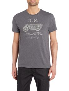 Denim and Supply Ralph Lauren Graphic crew neck t-shirt