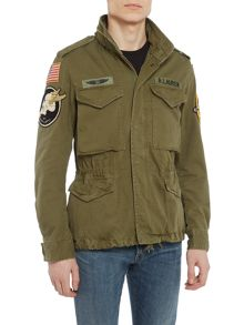 Denim and Supply Ralph Lauren Military cotton field jacket