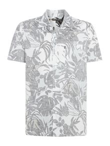 Levi's Line 8 cuban collar tropical print shirt