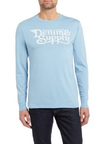 Denim and Supply Ralph Lauren Long sleeve crew neck t-shirt