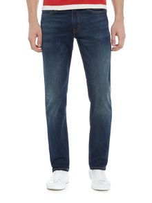 Levi's 511 slim fit dark wash jeans