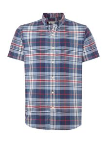 Denim and Supply Ralph Lauren Short sleeve checked shirt