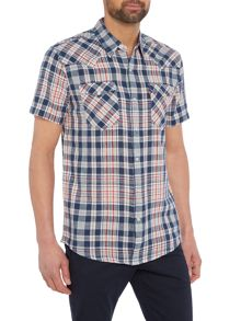 Levi's Barstow western checked short-sleeve shirt