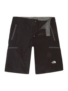 The North Face Exploration logo shorts