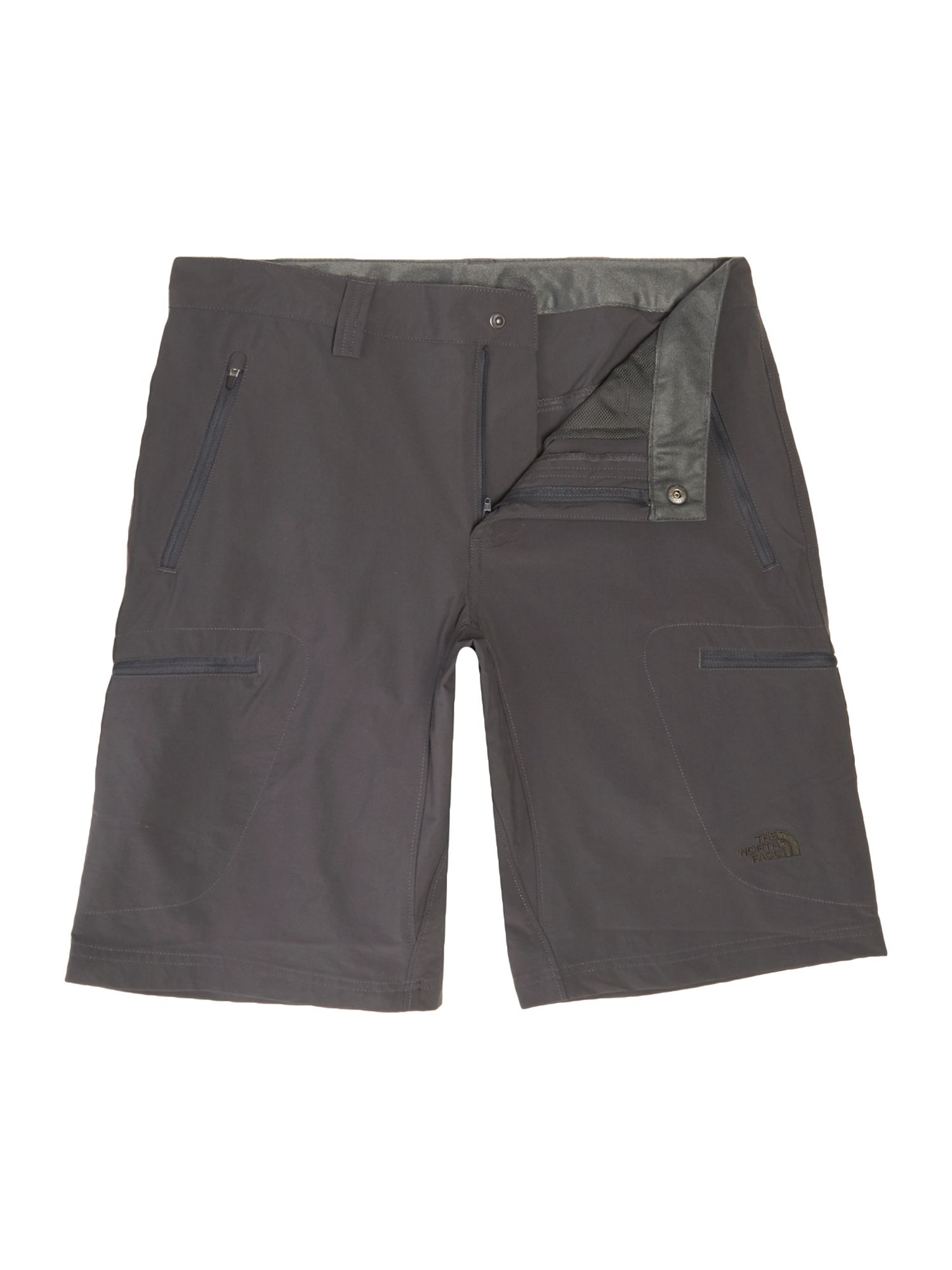 Mens The North Face Exploration logo shorts Slate