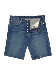 Levi's 501 hemmed denim short