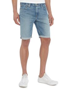 Levi's 511 slim fit denim cutoff shorts