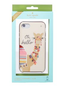 Kate Spade New York Jewelled camel iphone 7 case