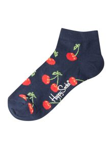 Happy Socks Cherry Low Trainer Socks