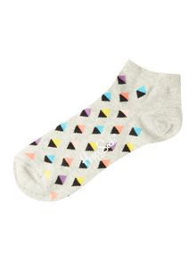 Happy Socks Stripe Low Trainer Sock