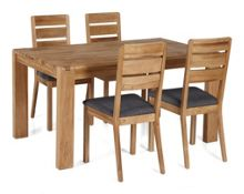 Linea Camden Dining Table and 4 Chairs