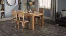 Linea Camden Dining Table, One Bench and 2 Chairs