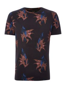 Label Lab Burnt Leaves Graphic T-Shirt