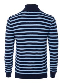 Polo Ralph Lauren Boys Striped Half Zip Polo Sweatshirt