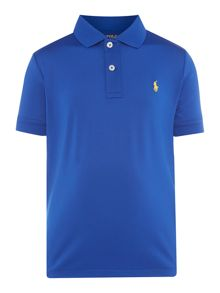 Polo Ralph Lauren Boys Pique Logo Short Sleeve Polo