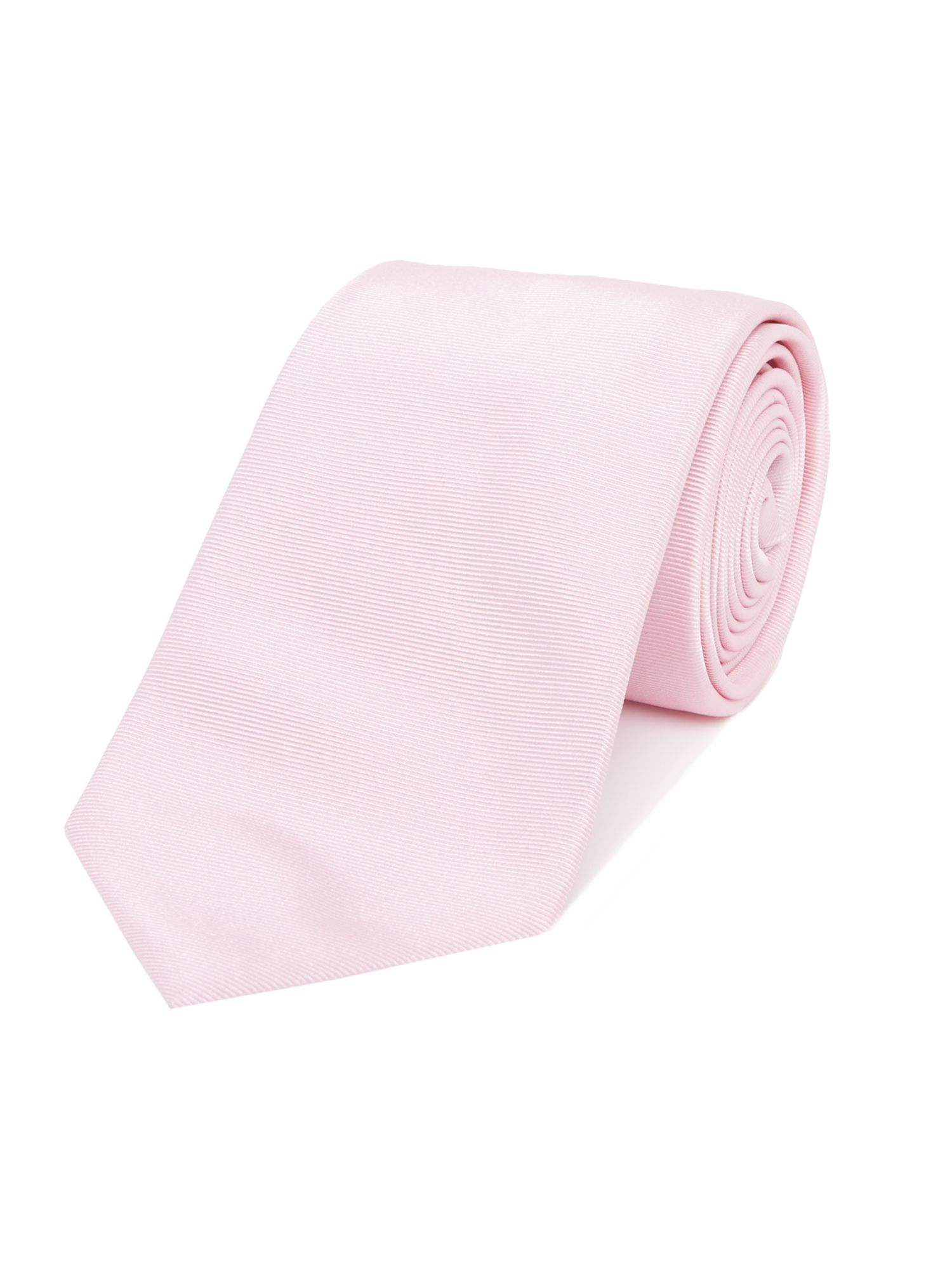 Armani Collezioni Patterned Silk Tie Light Pink