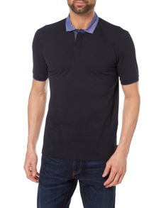 Armani Collezioni Stretch Cotton Piquet Polo T-Shirt
