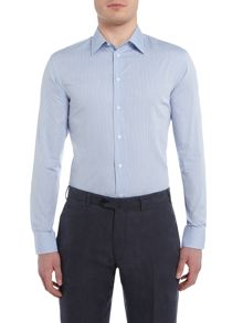 Armani Collezioni Classic-Fit Striped Shirt