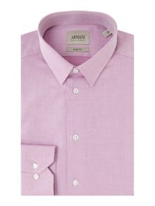 Armani Collezioni Slim-Fit textured shirt