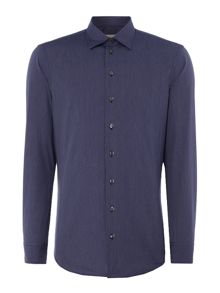 Armani Collezioni Slim-Fit Patterned Shirt
