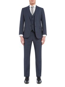 Armani Collezioni 3-piece Slim-fit Wool Suit