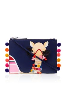 Kate Spade New York Spice things up camel pouch purse