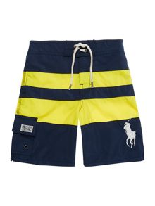 Polo Ralph Lauren Boys Bold Stripe Swim Shorts