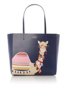 Kate Spade New York Camel hallie tote bag