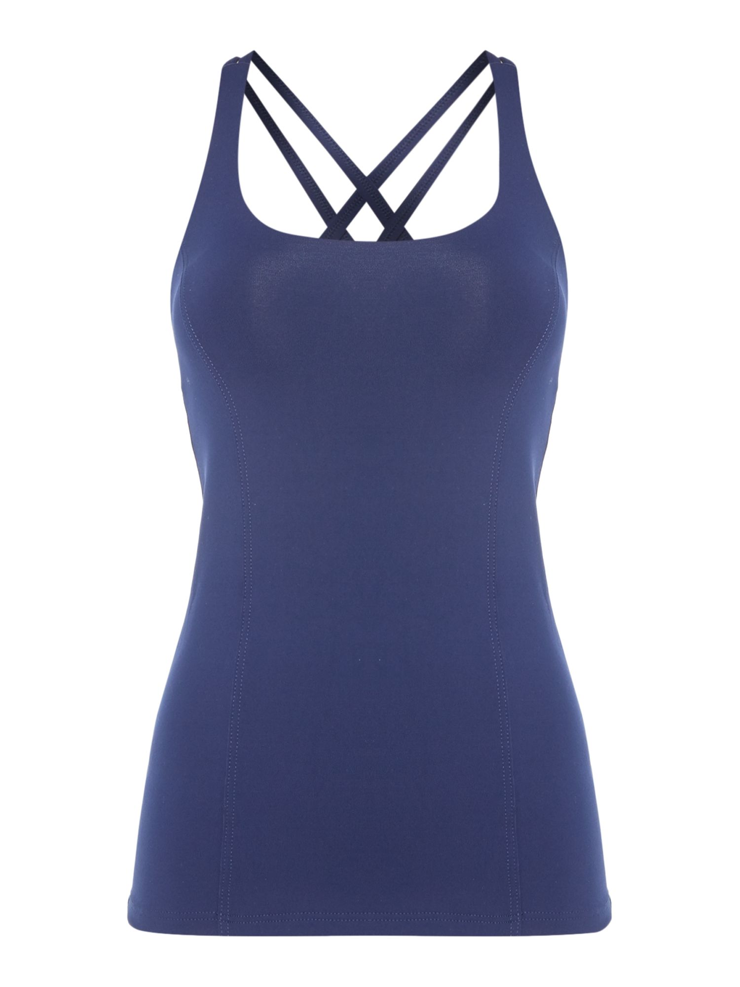 Dharma Bums Sports tank top, Blue
