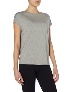 Dharma Bums Luxe layer short-sleeved top
