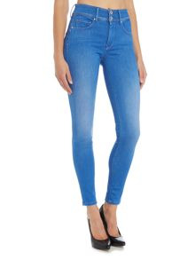 Salsa Secret Push in Skinny Jean in denim light wash