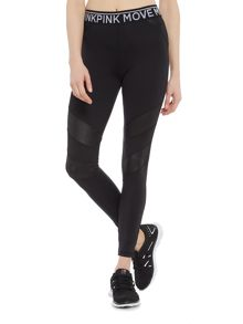 Mink Pink The dark side wet look legging
