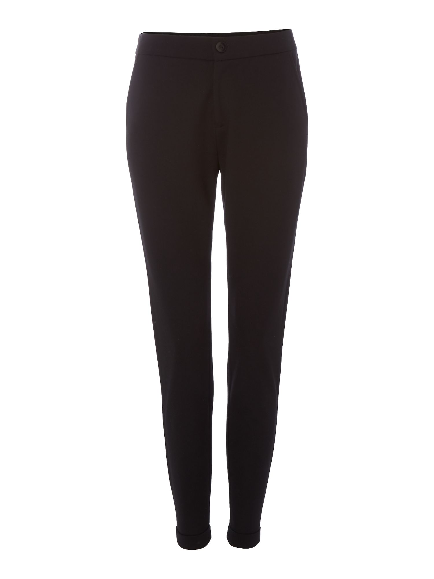 Part Two Slim leg trouser, Black