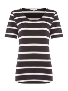 Part Two Wide stripe t-shirt