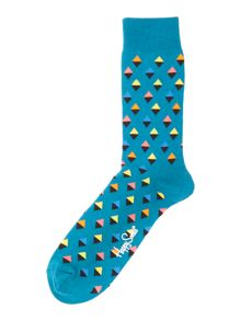 Happy Socks Mini Diamond Sock