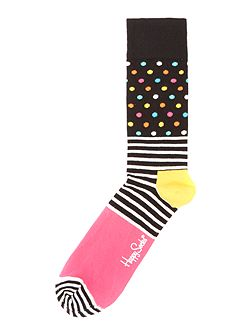 Stripes and Dots Sock