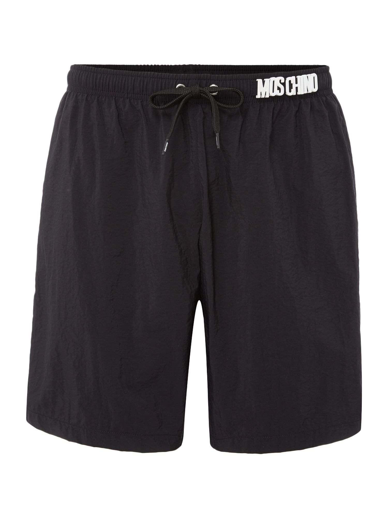 Men's Moschino Medium Plain Shorts, Black