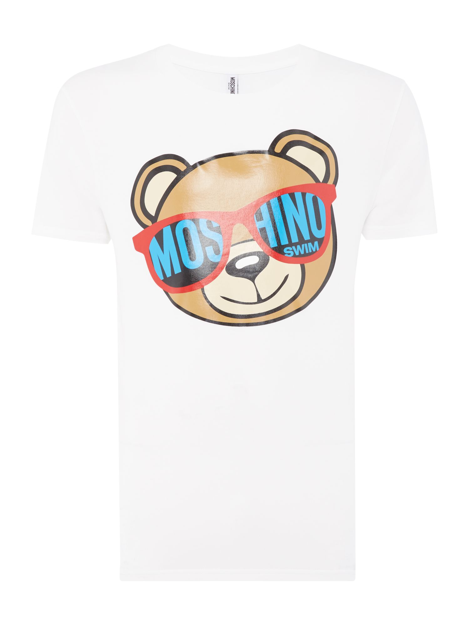 Men's Moschino Logo T-shirt, White