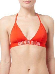 Calvin Klein Intense power triangle bikini top