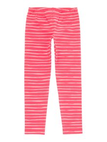 Benetton Girls Painted Stripe Leggings