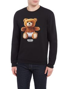 Moschino Teddy Bear Logo Sweatshirt