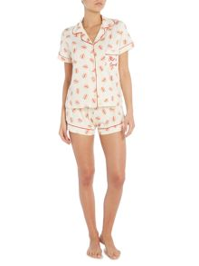 Chelsea Peers Burger short pyjama set