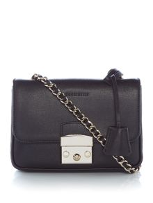 Coccinelle Margo chain foldover crossbody bag