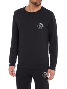 Diesel Mohican Head Crew Neck Sweatshirt