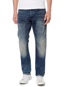 G-Star 3301 Tepered Rico tapered fit dark wash jeans