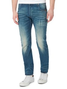 G-Star Arc 3D Cavell slim fit mid wash stretch jeans
