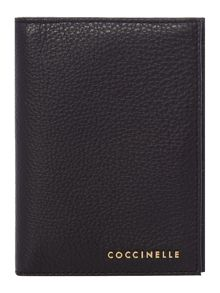 Coccinelle Metallic soft passport case