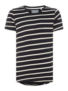 Guess Striped crew neck t-shirt