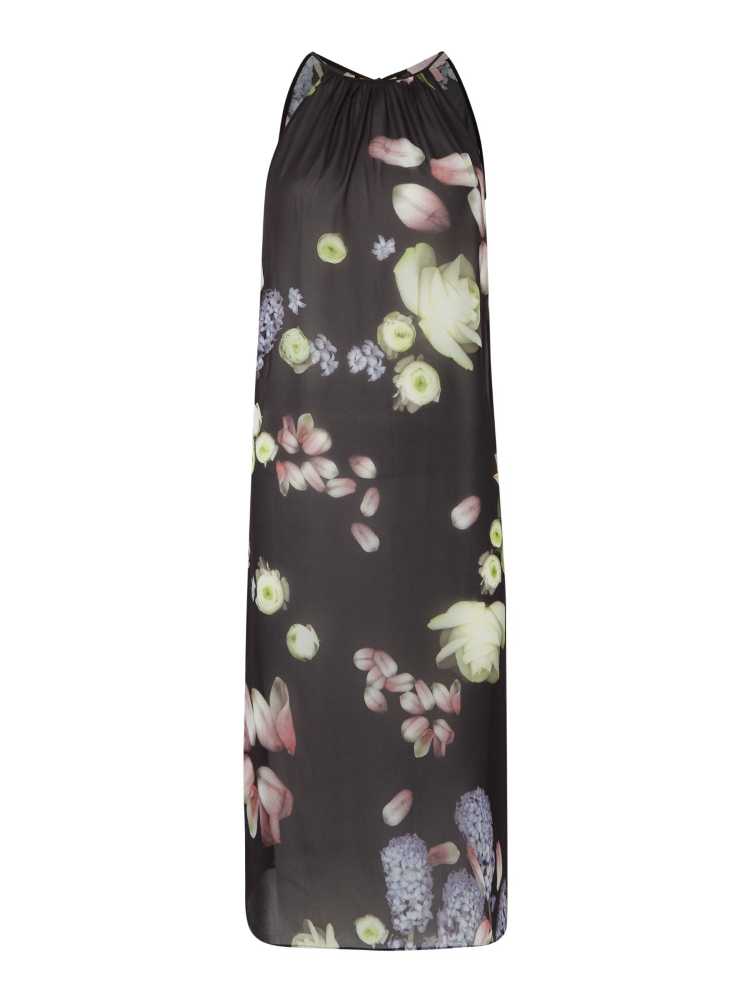 Ted Baker Kensington floral beach cover up, Black