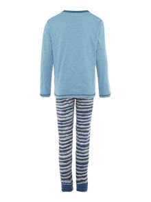 Benetton Boys Dog Long Sleeve Pyjama Set